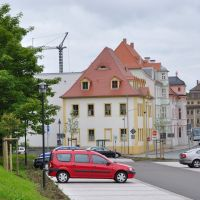 Historische Häuser in der Leipziger Straße [2010], Вейссенфельс