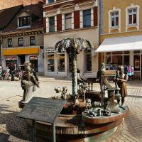 Stadtbrunnen, Weißenfels, Вейссенфельс