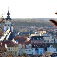 Sicht über das Weißenfelser Zentrum im Januar 2012, Вейссенфельс