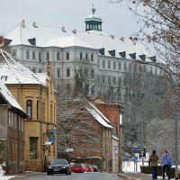 Leipziger Straße stadteinwärts, Schloss Neu-Augustusburg [2013], Вейссенфельс