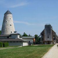 Im Kurpark mit Blick auf Soleturm und Gradierwerk, Зейтз