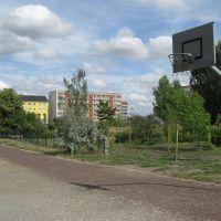 Basketballplatz auf dem Maxim-Gorki-Schulgelände, Зейтз