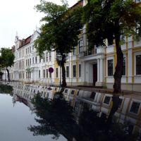 Der Landtag von Sachsen-Anhalt in Magdeburg am Dom-Platz, Магдебург