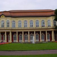 Orangerie mit Schlossgartensalon Merseburg, Мерсебург