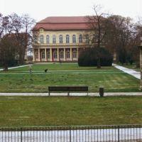 Schlossgarten, Merseburg, Мерсебург