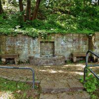 Quellfassung, Schlosspark Merseburg, Мерсебург