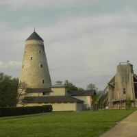 Gradierwerk und Soleturm Bad Salzelmen, April 2014, Волмирстэдт