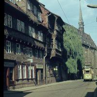Dominikanerstraße,etwa 1966, Халберштадт