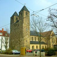 Moritzkirche Halberstadt, Халберштадт