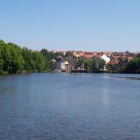 Blick vom Inselzoo, Альтенбург