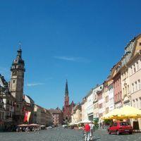 Marktplatz in Altenburg, Альтенбург