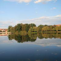 Blick auf den Inselszoo, Альтенбург