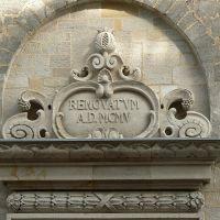 Altenburg - Details am Turmeingang  der Stadtkirche St. Bartholomäi, Альтенбург