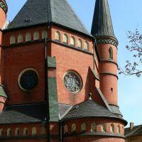 Altenburg - Blick auf die Brüderkirche von hinten, Альтенбург
