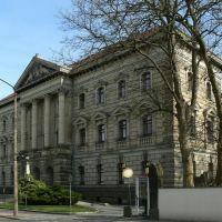 Altenburg - Blick auf das Landratsamt Altenburger Land erbaut 1892-1894, Альтенбург