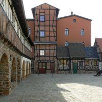 Altenburg - Blick in den Burgvogtey Ziegenhayn - Wo die Ritterspiele stattfinden, Альтенбург