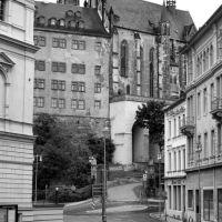 Altenburg, Juli 2012 (Blick von der Post zum Schloß Altenburg), Альтенбург