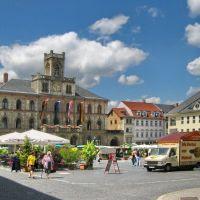 Markt van Weimar, Веймар