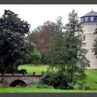 Park an der Ilm (Goethepark) in Weimar,  Bibliotheksturm, Веймар