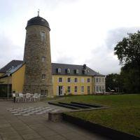 Weimar; Bildungszentrum der BA vom Garten (TR), Веймар