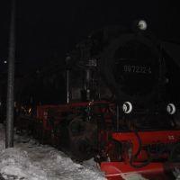 Das heisse rote Ungeheuer zischt durch die eiskalte, dunkle Nacht..., Вернигероде
