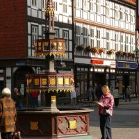 Wernigerode - Marktbrunnen, Вернигероде
