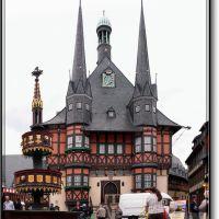 Rathaus / Townhall Wernigerode am Harz (panorama), Вернигероде