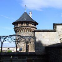View over the castle place, Вернигероде