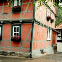 Wernigerode Schiefes Haus K2004-06-27 © http://www.fahidi.eu, Вернигероде