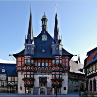 Wernigerode - Rathaus, Вернигероде