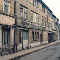 Gotha; Mönchelsstraße in traurigem Zustand (TR), Гота