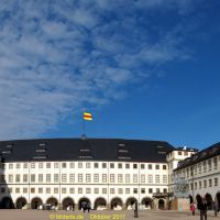 Innenhof Schloss Friedenstein in Gotha, Гота