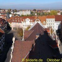 Gotha vom Rathausturm, Гота