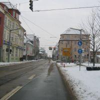 Rautenstrasse-Bahnhofstrasse in NDH, Нордхаузен