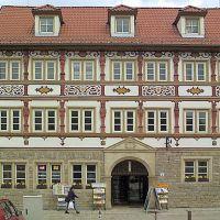 """Meiningen, """"Steinernes Haus"""", Майнинген"""