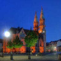 Meiningen, Kirche am Markt, Майнинген