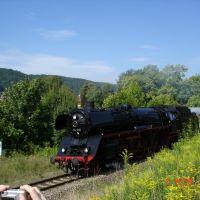 Steam Engine in action, Майнинген