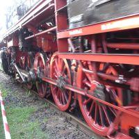 Steam Engine close up, Майнинген