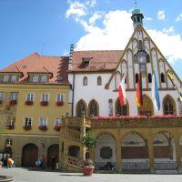 Amberg, Rathaus, Амберг