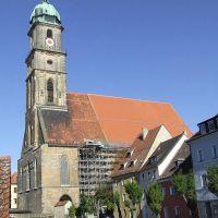Amberg, Martinskirche, Амберг
