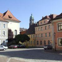 Amberg, Schrannenplatz, Амберг