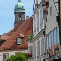 Amberg - Blick zur Stadtkirche, Амберг