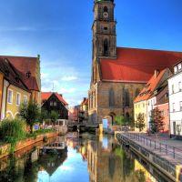 Die Vils in Amberg, Амберг