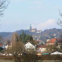 Blick zur Maria-Hilf-Berg-Kirche, Амберг