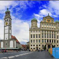 Augsburg, Rathausplatz, Аугсбург