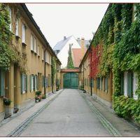 Augsburg Fuggerei, Аугсбург