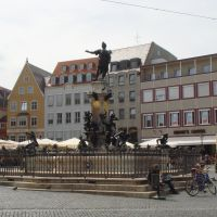 Augustusbrunnen in Augsburg, Аугсбург
