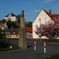 Aschaffenburg - hl. Johannes Nepomuk, Ашхаффенбург