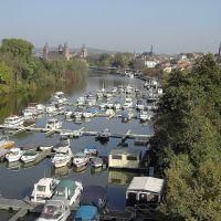 Yachthafen mit Blick auf Aschaffenburg, Ашхаффенбург
