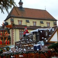 Historic Aschaffenburg: Inside the christmas market, Ашхаффенбург